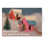 Home for the hoildays greeting card