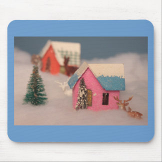 Home for the hoildays mouse pad