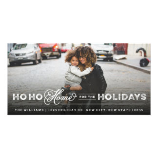 Home For The Holiday Moving Announcement PhotoCard