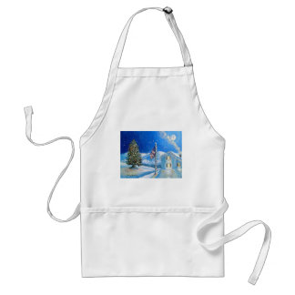 Home For The Holidays Adult Apron
