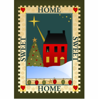 Home For The Holidays Cutout