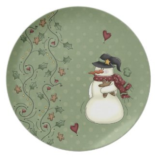 Home For The Holidays Dinner Plates