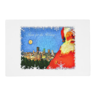 """Home for the Holidays in Pittsburgh"" Placemat"
