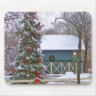 HOME FOR THE HOLIDAYS MOUSE PAD
