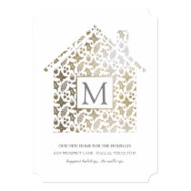 Home for the Holidays Photo Card - Faux Foil