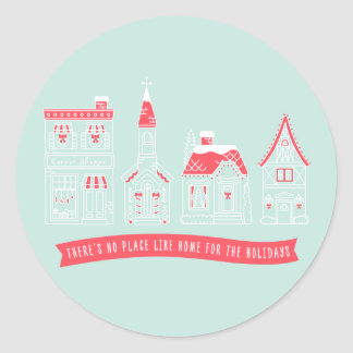 Home for the Holidays Stickers