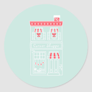 Home for the Holidays Stickers - Corner Shoppe
