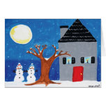 "Home for the Holidays with ""Happy Holidays"" Greeting Card"