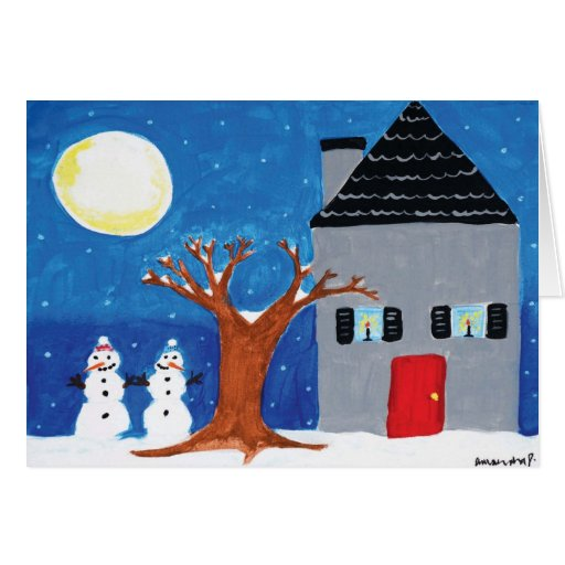 """Home for the Holidays with """"Happy Holidays"""" Cards"""