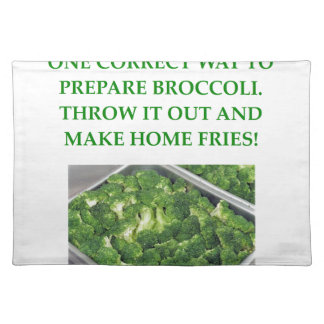 home fries placemat