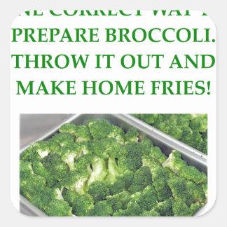 home fries square sticker