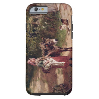 Home from Market (oil on canvas) Tough iPhone 6 Case