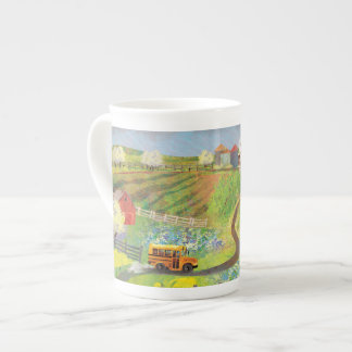 Home from school tea cup
