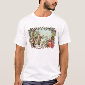 Home from the Brook, The Lucky Fishermen T-Shirt