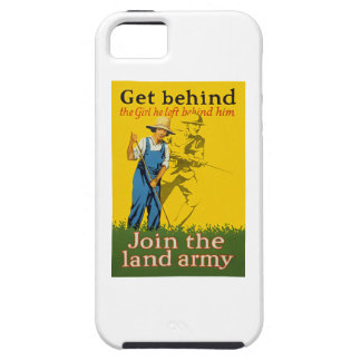 Home Front Join the Land Army WWI Propaganda iPhone SE/5/5s Case