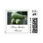 Home Garden Harvest Postage Stamps