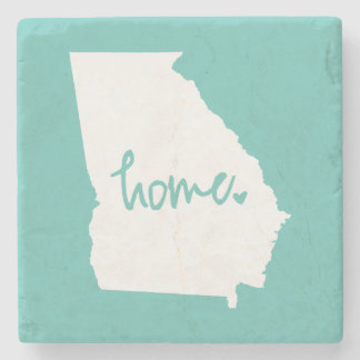 Home Georgia Custom Color Stone Coaster