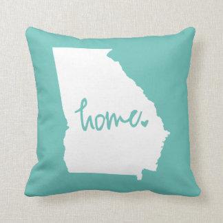 Home Georgia Custom Color Throw Pillow