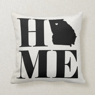 Home Georgia State Pillow CHOOSE YOUR COLOR