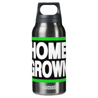 Home Grown 2 Green 10 Oz Insulated SIGG Thermos Water Bottle