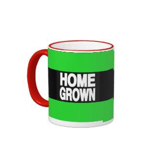 Home Grown 2 Green Ringer Coffee Mug