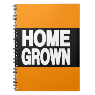 Home Grown 2 Orange Note Books