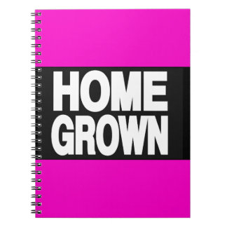 Home Grown 2 Pink Note Book