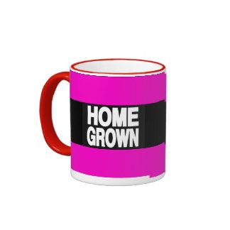 Home Grown 2 Pink Ringer Coffee Mug