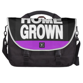 Home Grown 2 Purple Bags For Laptop