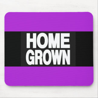 Home Grown 2 Purple Mouse Pad