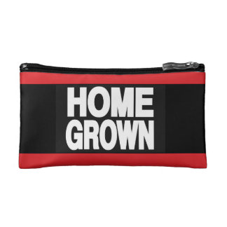 Home Grown 2 Red Cosmetic Bag