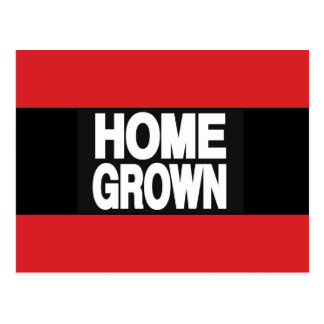 Home Grown 2 Red Postcard