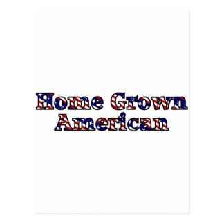 Home Grown American Postcard