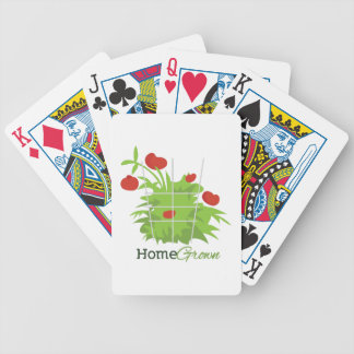 Home Grown Bicycle Playing Cards