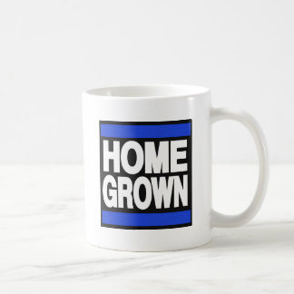 Home Grown Blue Coffee Mug
