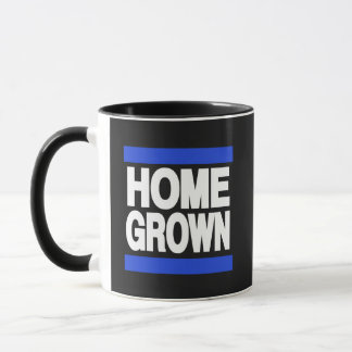 Home Grown Blue Mug