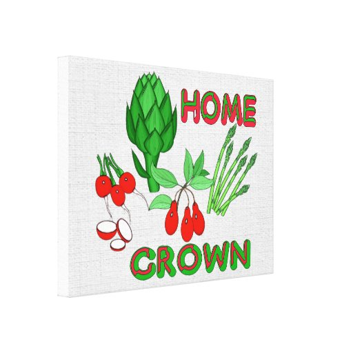 Home Grown Gallery Wrap Canvas