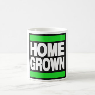Home Grown Green Coffee Mug