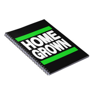 Home Grown Green Note Books