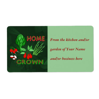 Home Grown Label