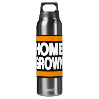 Home Grown Orange 16 Oz Insulated SIGG Thermos Water Bottle