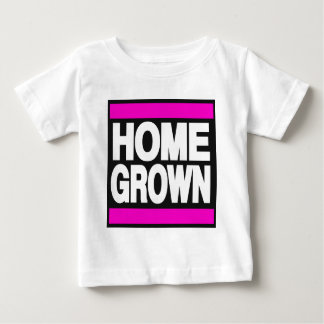 Home Grown Pink Baby T-Shirt