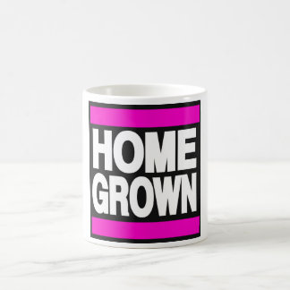 Home Grown Pink Coffee Mug