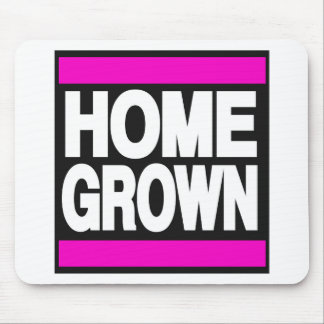 Home Grown Pink Mouse Pad