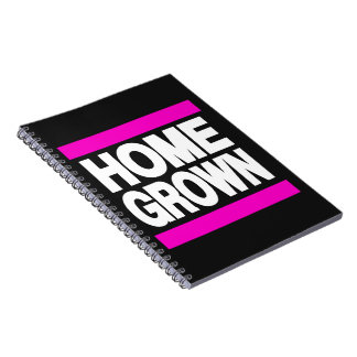Home Grown Pink Note Books