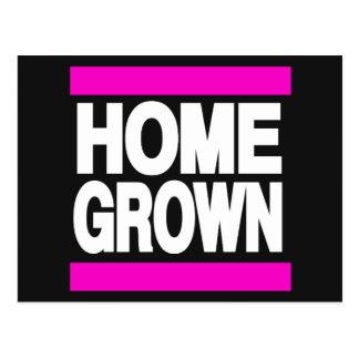 Home Grown Pink Postcard