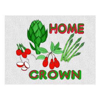 Home Grown Postcard
