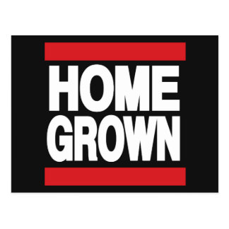Home Grown Red Postcard
