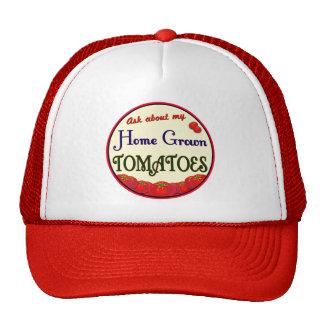 Home Grown Tomatoes Gardener Hat