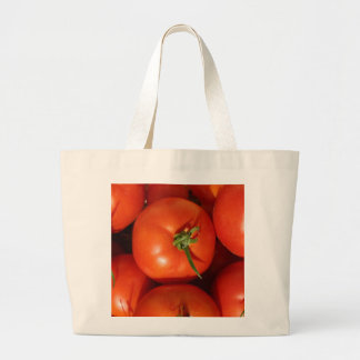 Home Grown Tomatoes Large Tote Bag